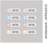 laundry symbols icon | Shutterstock .eps vector #654316213