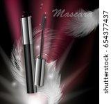 cosmetics beauty series  ads of ...   Shutterstock .eps vector #654377437