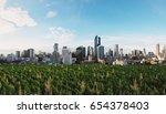 modern buildings in the city... | Shutterstock . vector #654378403
