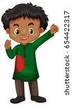 bangladesh boy in costume...