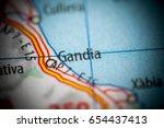 gandia. spain | Shutterstock . vector #654437413
