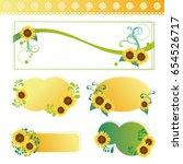 Set Of Sunflowers Frame