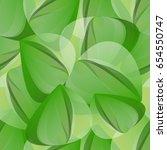 fresh geometrical seamless... | Shutterstock .eps vector #654550747