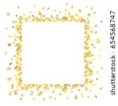 golden splash or glittering ... | Shutterstock .eps vector #654568747