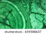 green copper ore texture macro | Shutterstock . vector #654588637