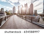 the modern building of the... | Shutterstock . vector #654588997