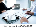 young startups businessmen...   Shutterstock . vector #654661057