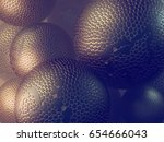 abstract futuristic spheres... | Shutterstock . vector #654666043