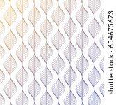 linear vector pattern ... | Shutterstock .eps vector #654675673