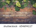 vineyard wine background | Shutterstock . vector #654694117