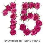 Arabic Numeral 15  Fifteen ...