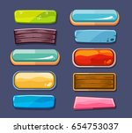 options selection windows ... | Shutterstock . vector #654753037