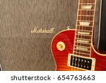 the classic rock combination of ... | Shutterstock . vector #654763663