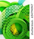 circle vector background design ... | Shutterstock .eps vector #654794947