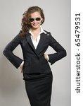 attractive young business lady. ... | Shutterstock . vector #65479531