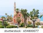 st. peter's church. the bell... | Shutterstock . vector #654800077