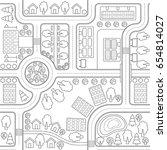 abstract seamless vector... | Shutterstock .eps vector #654814027