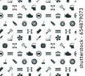 car spare parts seamless... | Shutterstock . vector #654879073