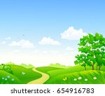 vector cartoon drawing of a... | Shutterstock .eps vector #654916783