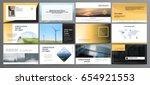 original presentation templates.... | Shutterstock .eps vector #654921553