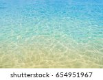 wave of clear sea background | Shutterstock . vector #654951967