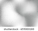 abstract halftone dotted... | Shutterstock .eps vector #655003183