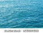Blue Sea Water Surface...