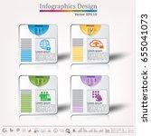 timeline infographic   business ... | Shutterstock .eps vector #655041073