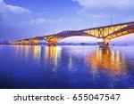 Han River With Seongsan Bridge...