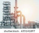 industrial zone the equipment... | Shutterstock . vector #655141897