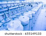 machinery and equipment in a... | Shutterstock . vector #655149133