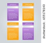 business infographics template... | Shutterstock .eps vector #655178143