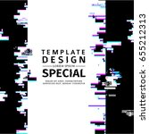 template design  vertical... | Shutterstock .eps vector #655212313