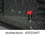 Vietnam War Memorial In...