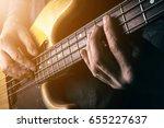 live rock music background ... | Shutterstock . vector #655227637