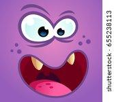 vector illustration of a funny... | Shutterstock .eps vector #655238113