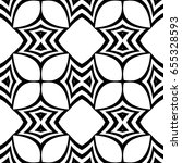 seamless geometric pattern with ... | Shutterstock .eps vector #655328593