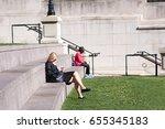 chicago  il  june 6  2017 ... | Shutterstock . vector #655345183