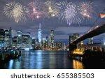 Fireworks Over New York City...