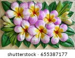 Plumeria Flower Shape Of Ston...