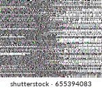 glitch background. computer... | Shutterstock .eps vector #655394083