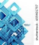 vector square template... | Shutterstock .eps vector #655401757