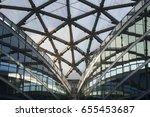 milan  italy   april 8  2017 ... | Shutterstock . vector #655453687