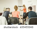 learning language   english... | Shutterstock . vector #655455343