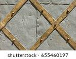 detail of ancient door as... | Shutterstock . vector #655460197