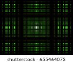 green 3d rectangle background | Shutterstock .eps vector #655464073