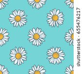 chamomile  camomile flower... | Shutterstock .eps vector #655476217