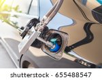 alternative refuel fuel  cng... | Shutterstock . vector #655488547
