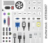 Pc Connectors And Sockets...