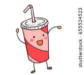 Funny Sketchy Soda Drink Cup....